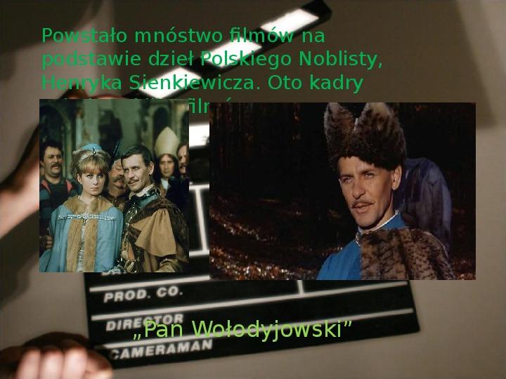 Henryk Sienkiewicz - Slajd 19