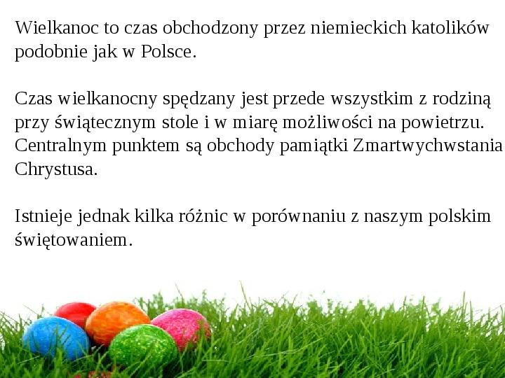 Wielkanoc w Niemczech - Slajd 1