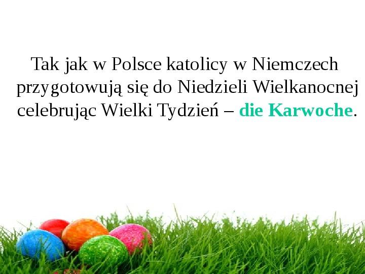 Wielkanoc w Niemczech - Slajd 2