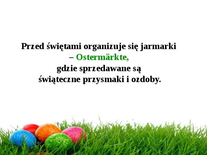 Wielkanoc w Niemczech - Slajd 3