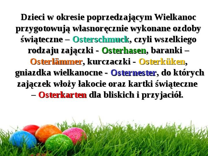Wielkanoc w Niemczech - Slajd 5