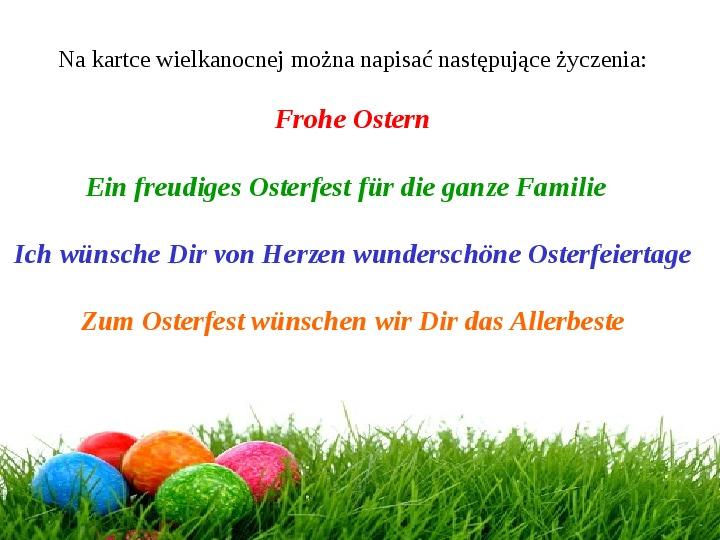 Wielkanoc w Niemczech - Slajd 7