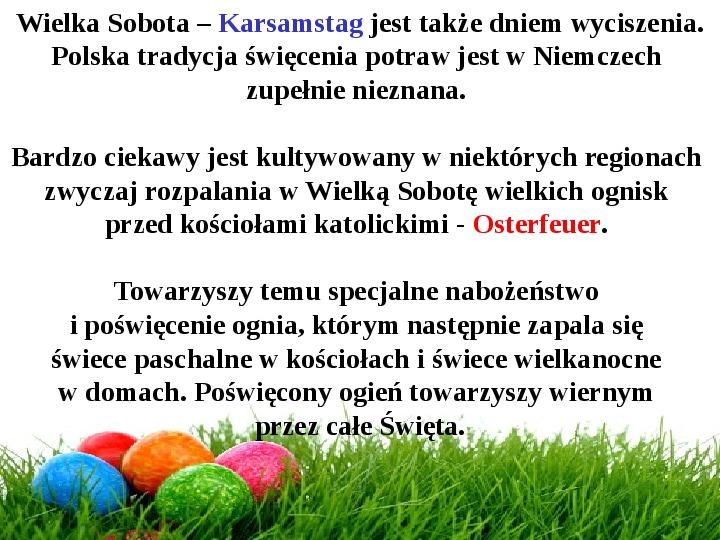 Wielkanoc w Niemczech - Slajd 15