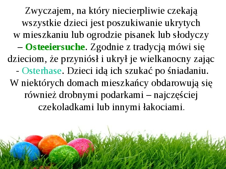 Wielkanoc w Niemczech - Slajd 20