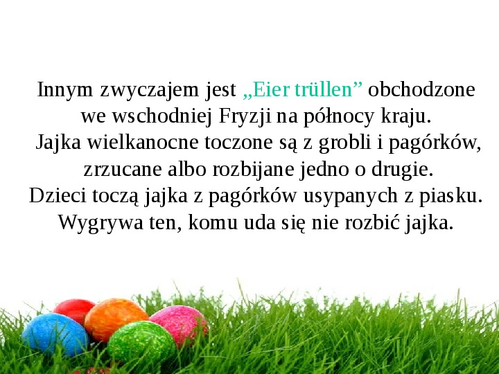 Wielkanoc w Niemczech - Slajd 22