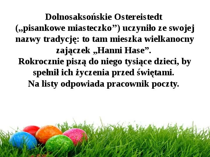 Wielkanoc w Niemczech - Slajd 25