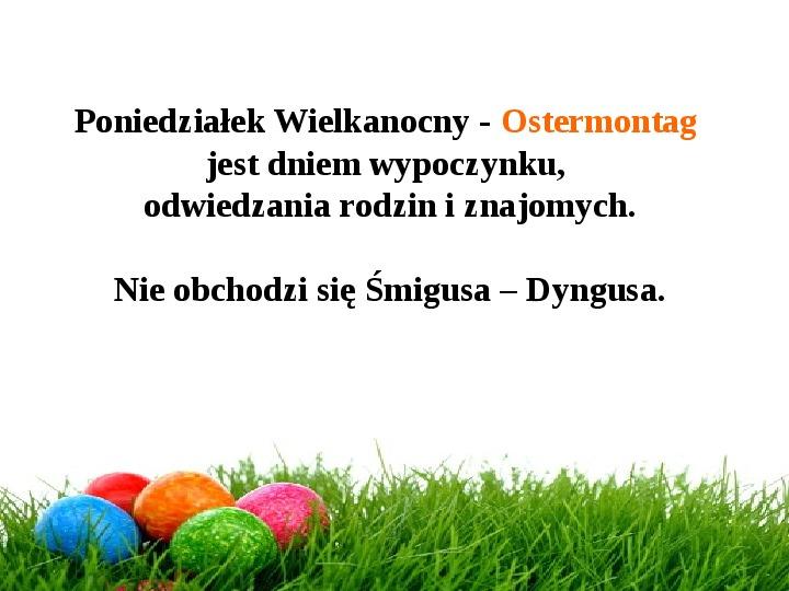 Wielkanoc w Niemczech - Slajd 30