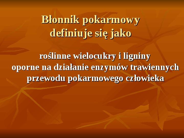 Węglowodany - Slajd 19