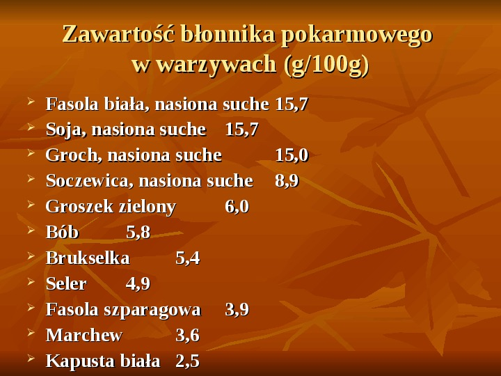Węglowodany - Slajd 25