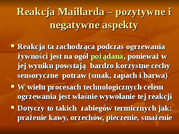 Węglowodany - Slajd 28