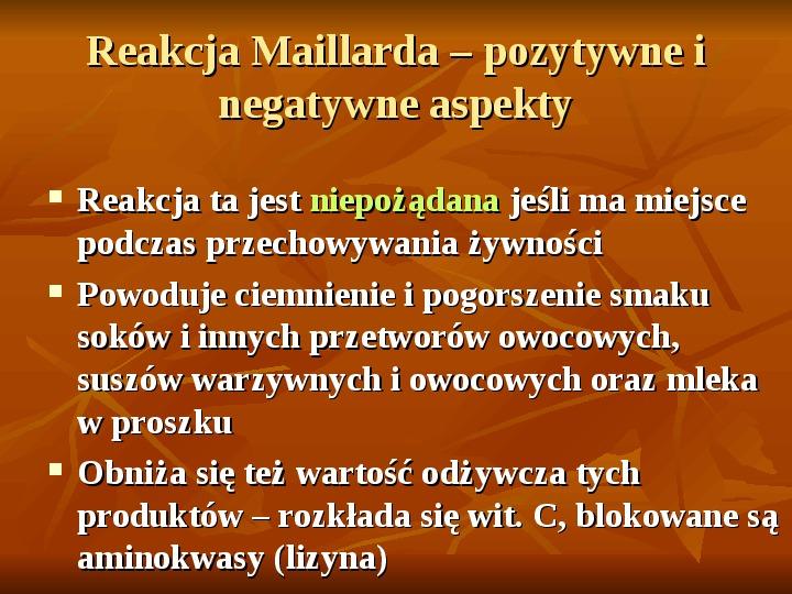Węglowodany - Slajd 29