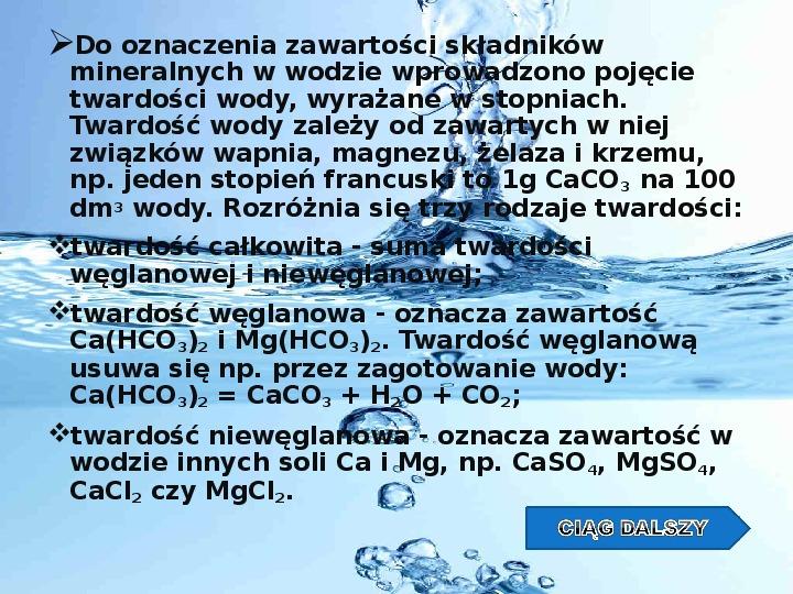 Woda w przyrodzie - Slajd 4