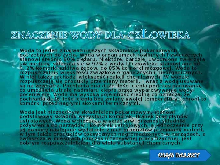 Woda w przyrodzie - Slajd 8