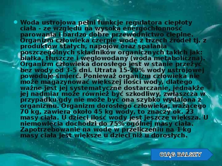 Woda w przyrodzie - Slajd 9
