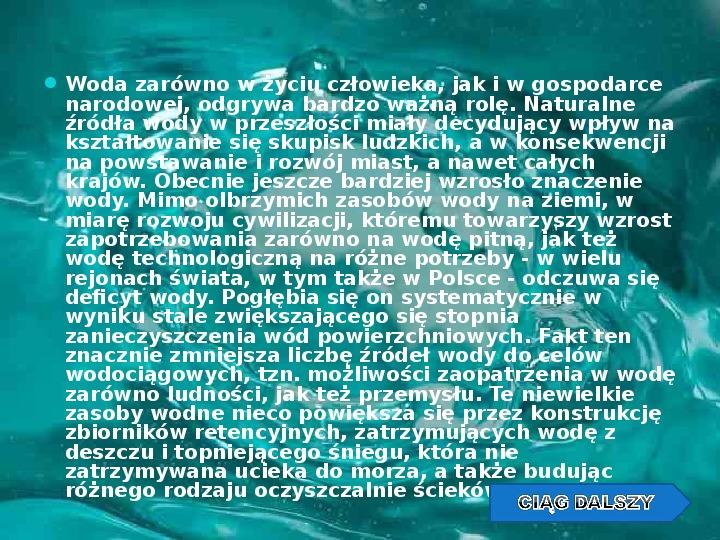 Woda w przyrodzie - Slajd 11