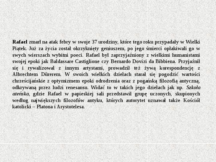Rafael Santi - Slajd 6