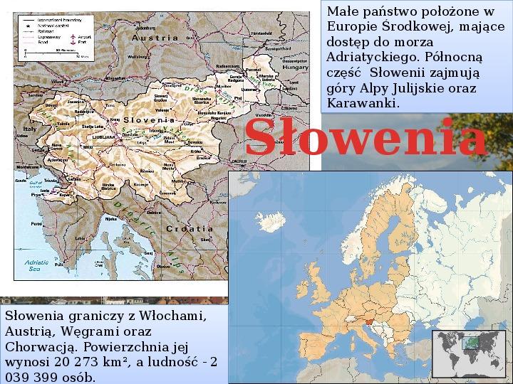 Słowenia - Slajd 1