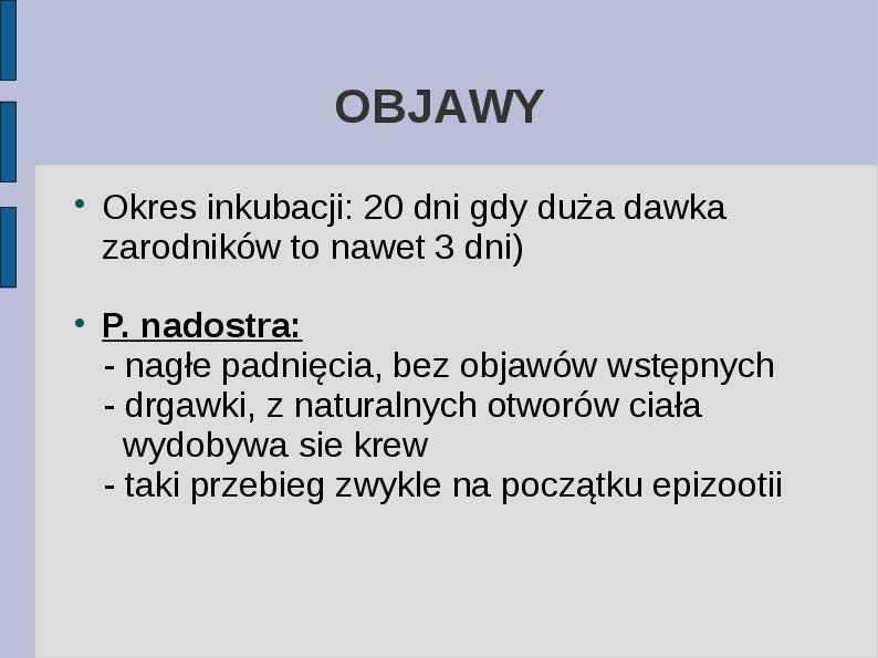 Wąglik - Slajd 8
