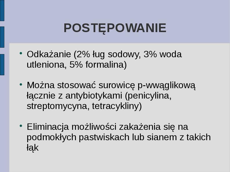 Wąglik - Slajd 14