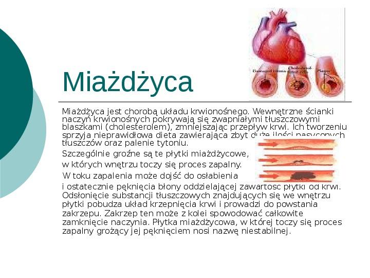 Choroby układu krążenia - Slajd 8