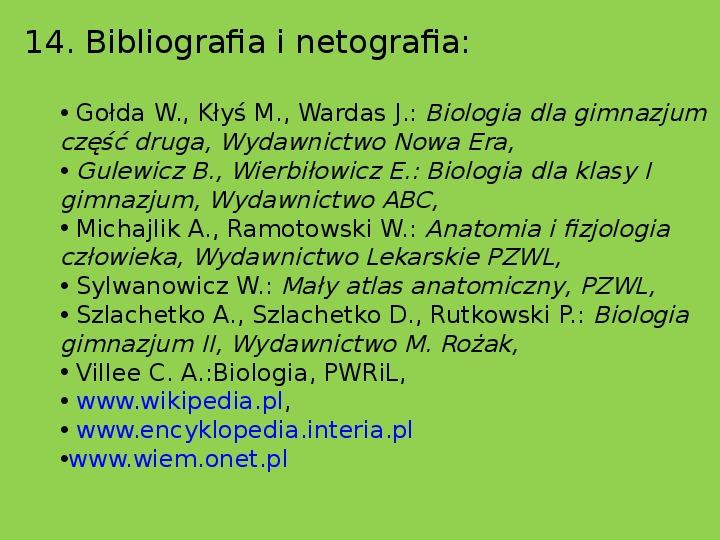 Układ limfatyczny i odporność organizmu - Slajd 20