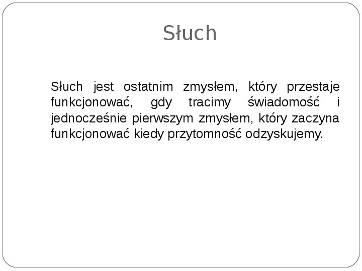 Schematy dla zmysłów - Slajd 47