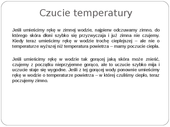 Schematy dla zmysłów - Slajd 114