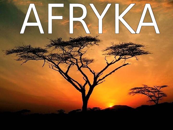 Afryka - Slajd 1