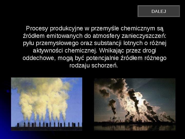 Szkodliwy wpływ czynników chemicznych na człowieka - Slajd 6