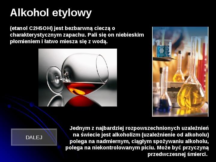 Szkodliwy wpływ czynników chemicznych na człowieka - Slajd 10