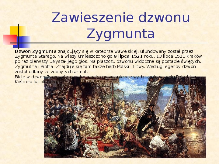 Historia Polski w obrazach Jana Matejki - Slajd 2