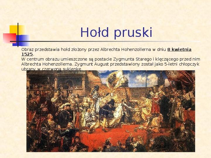 Historia Polski w obrazach Jana Matejki - Slajd 3