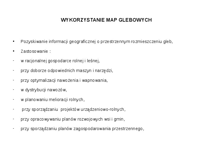 Kartografia gleb - Slajd 17