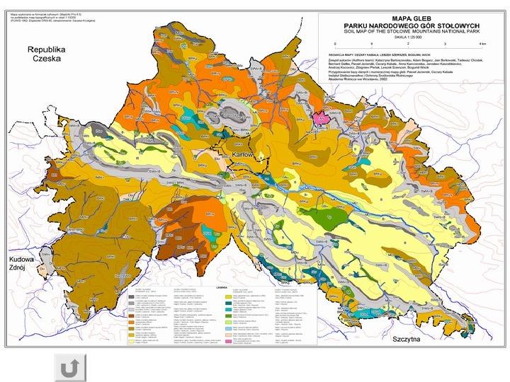Kartografia gleb - Slajd 21