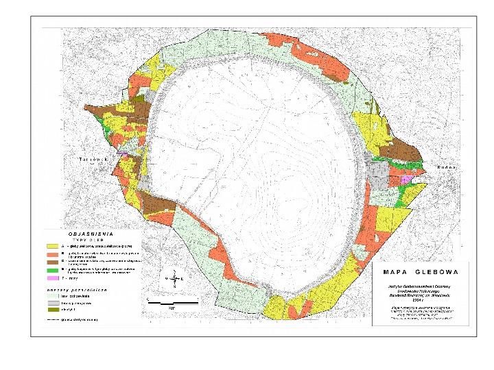 Kartografia gleb - Slajd 22