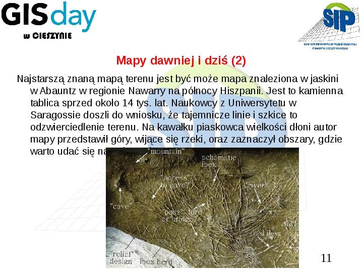 Mapy dawniej i dziś - Slajd 10