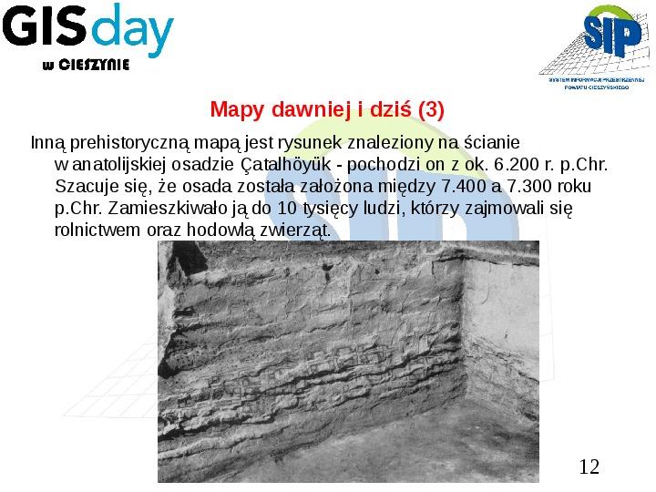 Mapy dawniej i dziś - Slajd 11