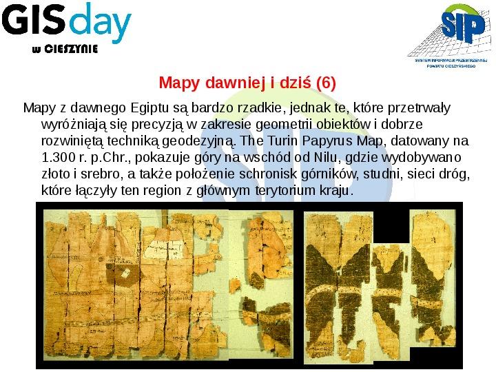 Mapy dawniej i dziś - Slajd 14