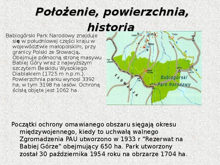 Parki Narodowe - Slajd 3
