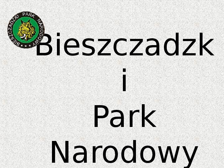 Parki Narodowe - Slajd 20