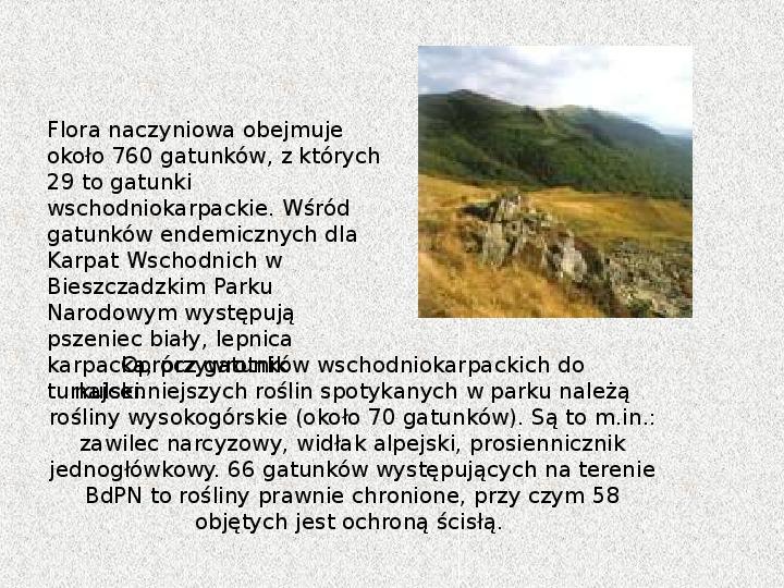 Parki Narodowe - Slajd 23