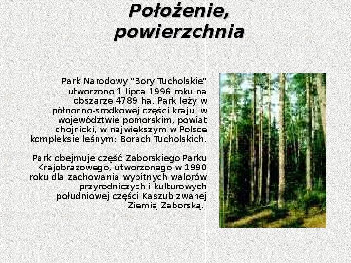 Parki Narodowe - Slajd 27