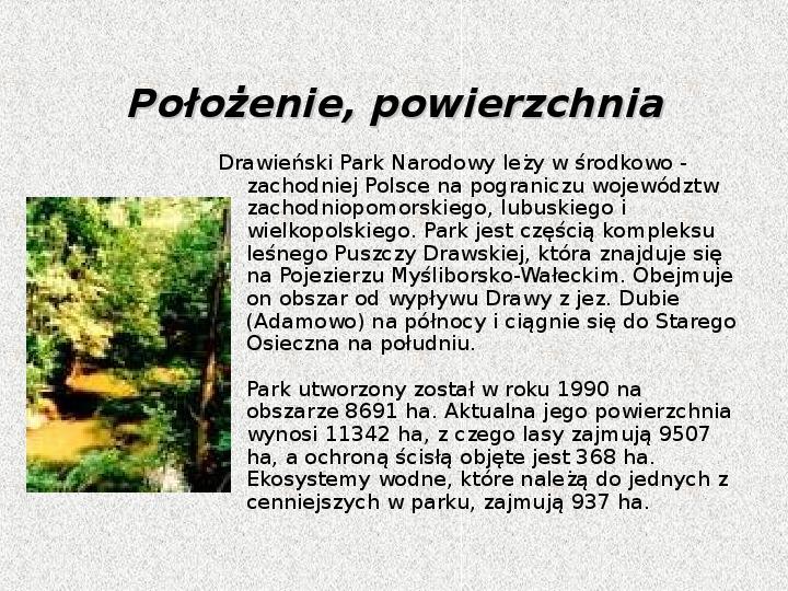 Parki Narodowe - Slajd 33