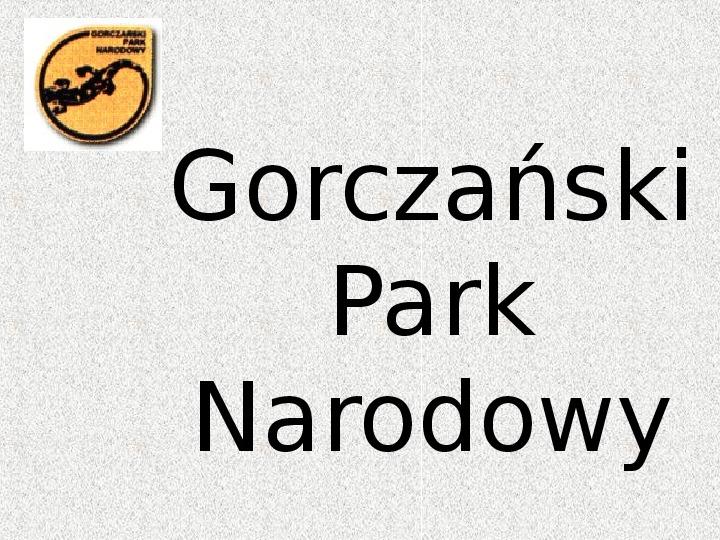 Parki Narodowe - Slajd 38