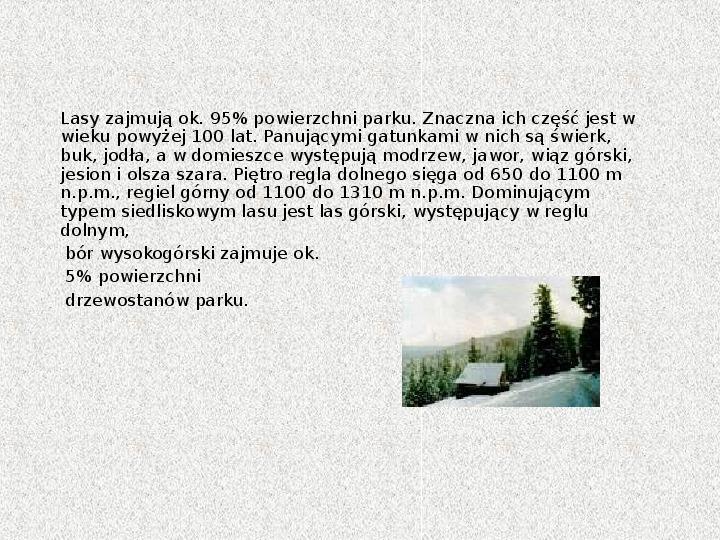 Parki Narodowe - Slajd 43