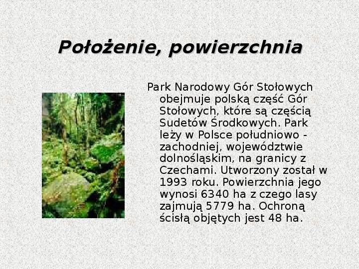 Parki Narodowe - Slajd 47