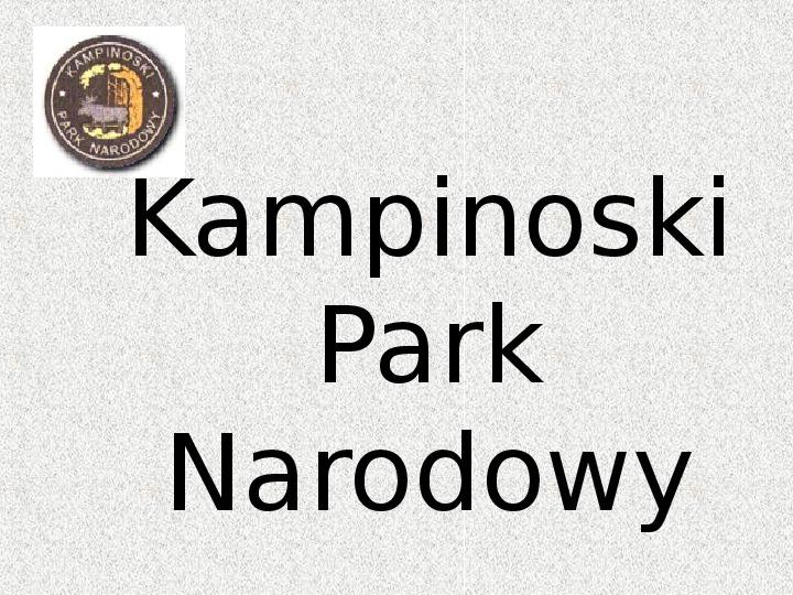 Parki Narodowe - Slajd 53