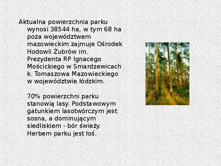 Parki Narodowe - Slajd 55