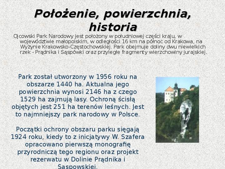 Parki Narodowe - Slajd 68