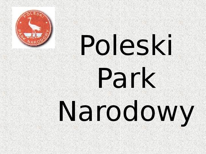 Parki Narodowe - Slajd 79